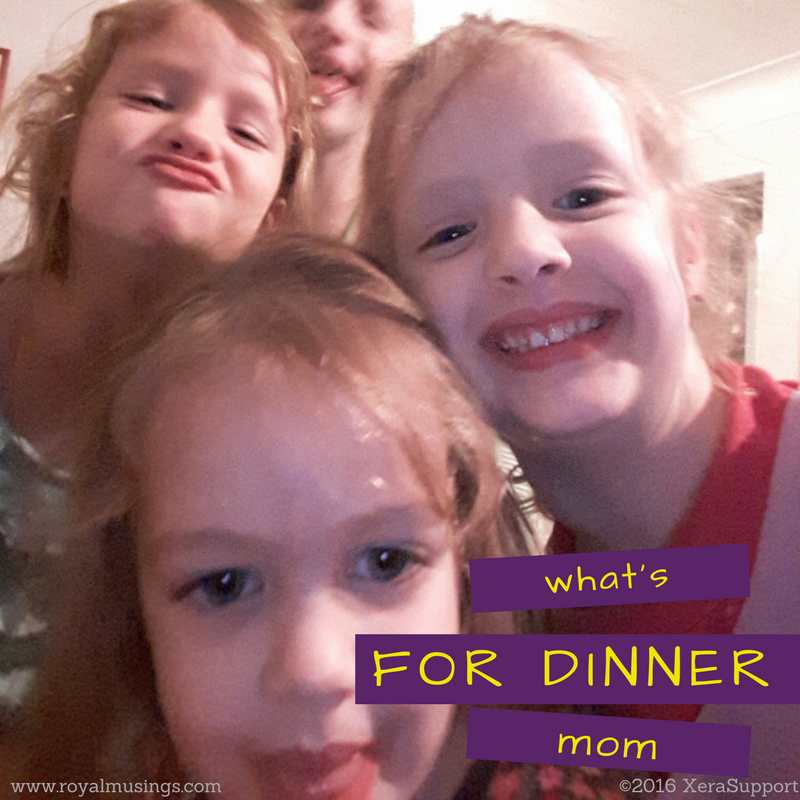 Kids asking what's for dinner? When you have a meal plan master list, you know what's for dinner.