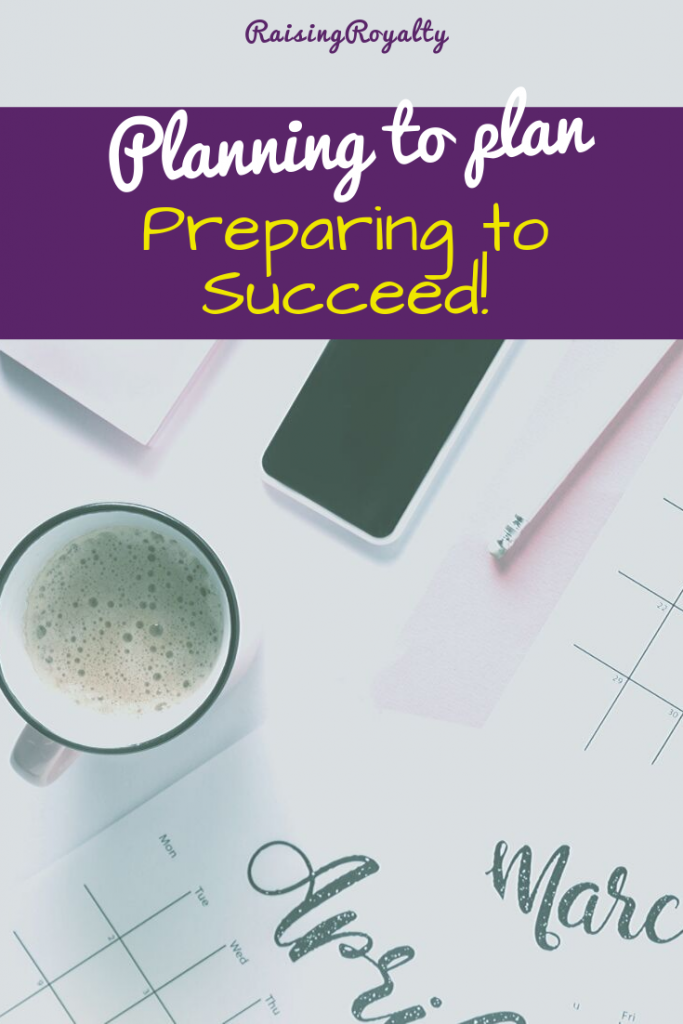 I have to plan ahead, as a busy single mom, in order to survive. So I developed planning systems to include every stage of planning that I need.