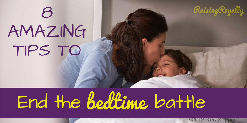 When mom tucks in her kids, they go to sleep easily, right? Not always. How do you get your kids to go to sleep on time every night?