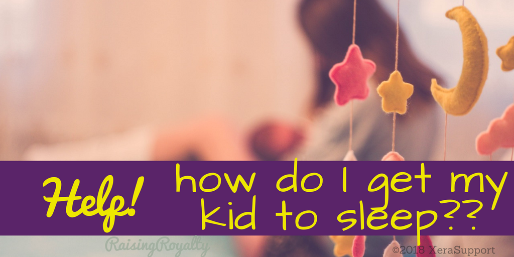 Sweet mobiles, sleeping babies, bliss? Not always. When your kids won't go to sleep, what do you do?