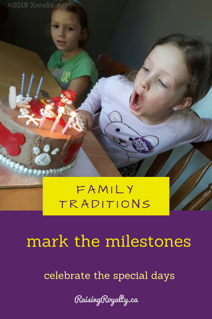 Birthdays, holidays and special events are significant. And you can mark the milestones with family traditions. Here's how and why that's so important to do