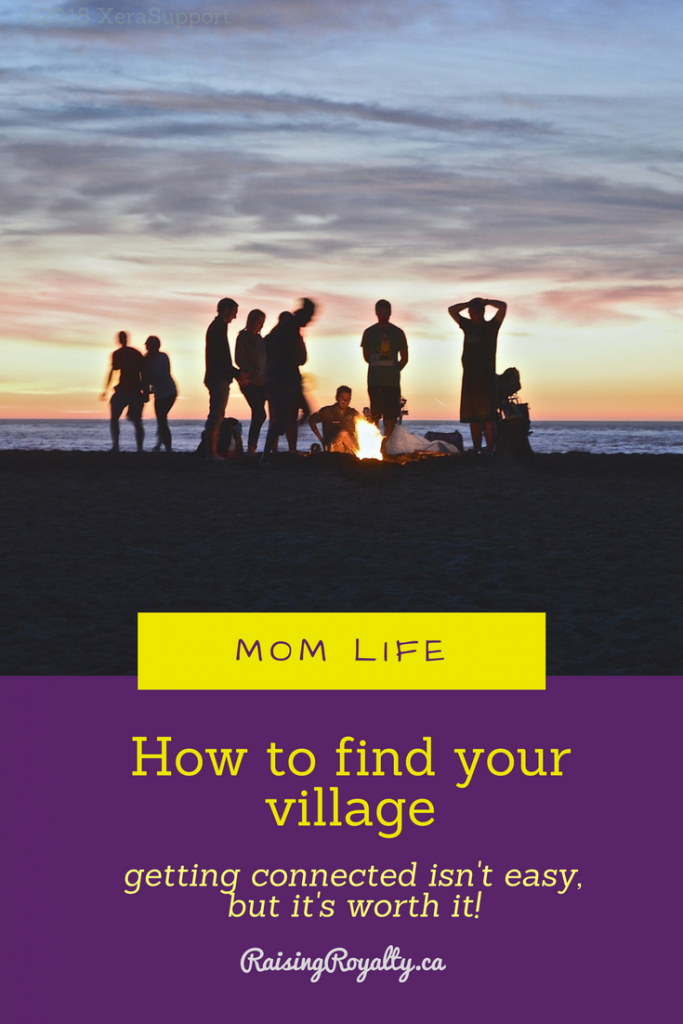 Friends gather on the beach. Knowing how to find your village starts with connection.