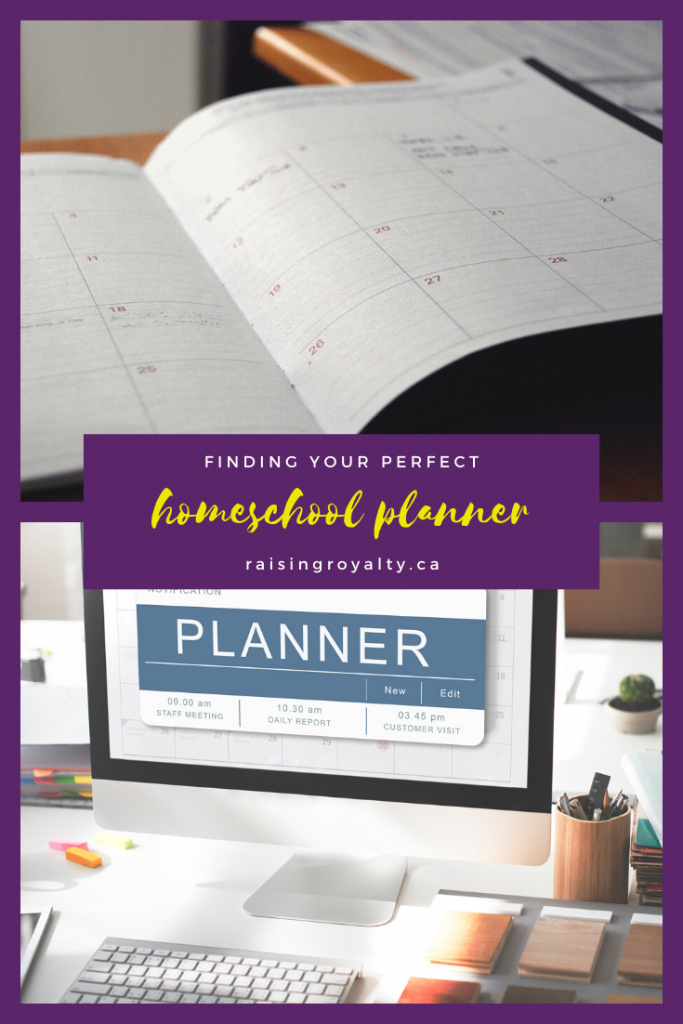 Paper calendar? Or online planner? Which one for homeschool?