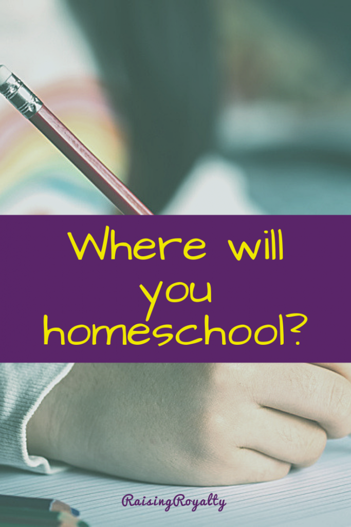 What kind of space do you need to have in order to homeschool? A classroom complete with all the tools from school.. or can you make do with less?