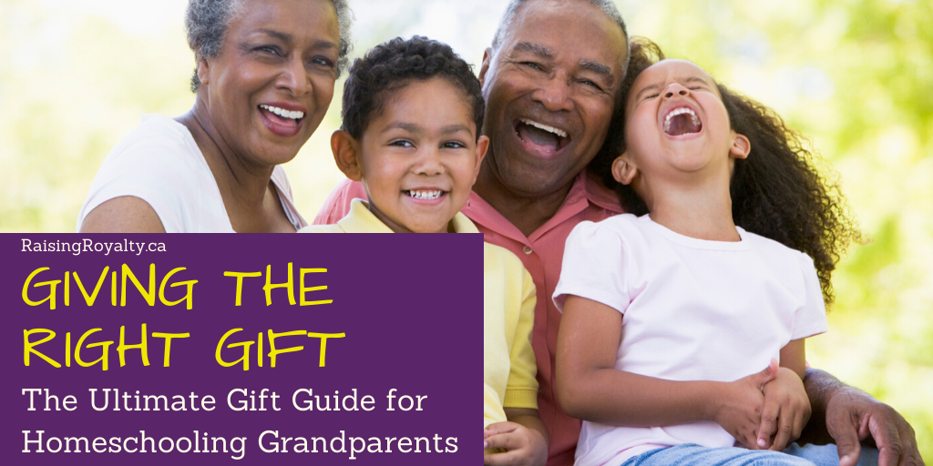 Give the right gift to homeschooling grandparents with this gift guide title image