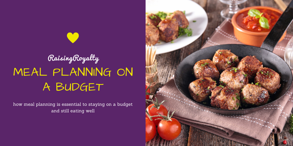 Can you meal plan on a budget? Not only can you, but you should! Meal planning can be essential to staying on a budget and still eating well.  Title image