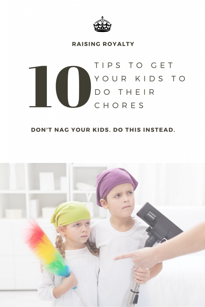 Pointing fingers at your kids to get them to do their chores doesn't really work. Try these 10 tips instead.