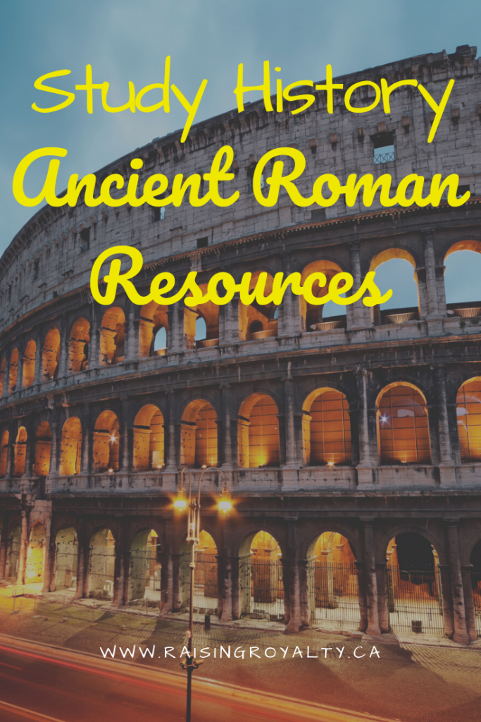 Ancient Roman history is hauntingly familiar. Check out this list of ancient Roman history resources, including books, videos and games!