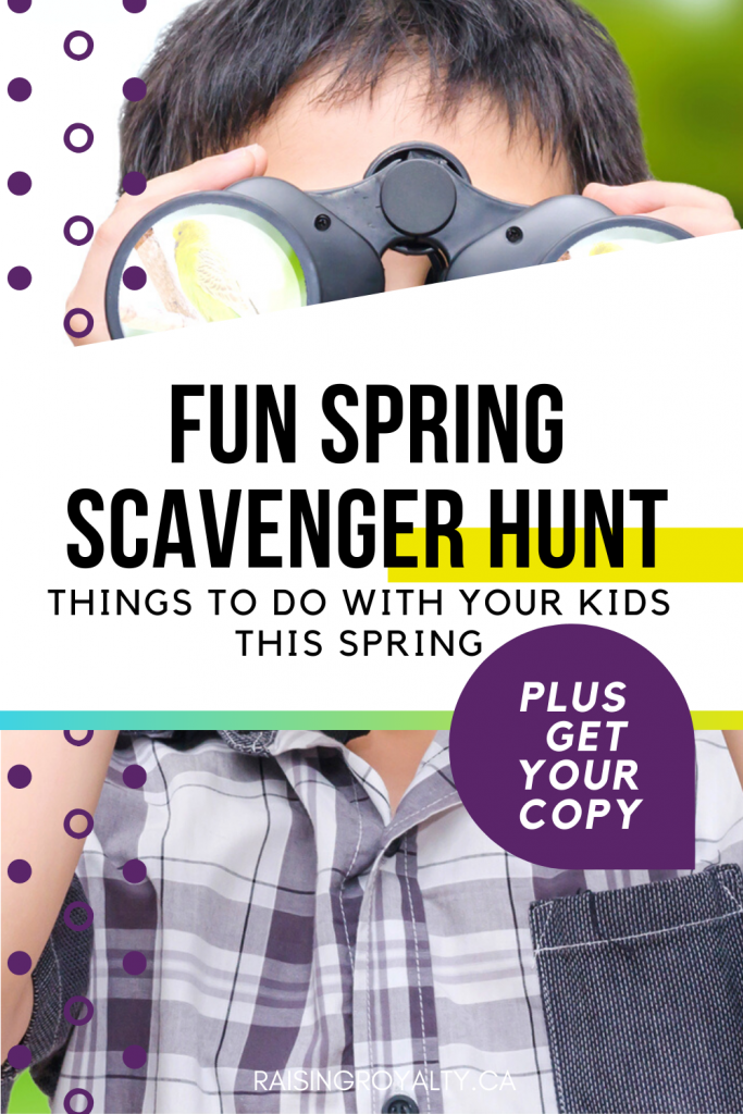 We went on a Spring Scavenger Hunt, to find the signs of spring. Did we find any? Get your copy, and look for spring where you live.