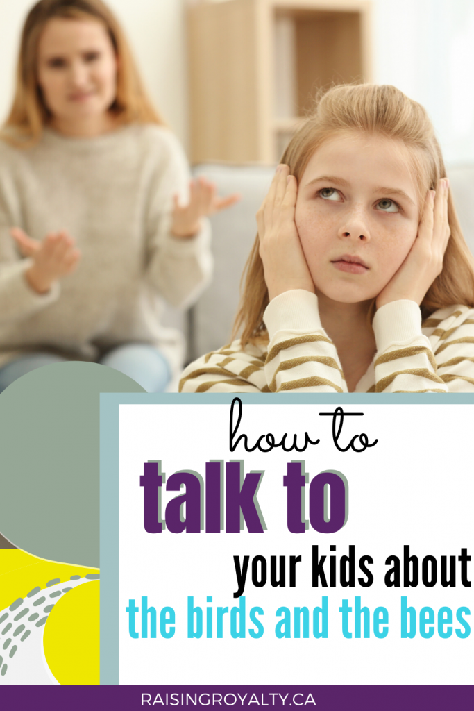 Talking about sensitive topics with your kids can be uncomfortable and awkward. Here's how to have the TALK with your kids easily!