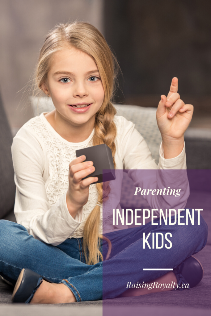 As parents, we all want to help our kids become independent. We start almost right away, teaching them the skills they need.
