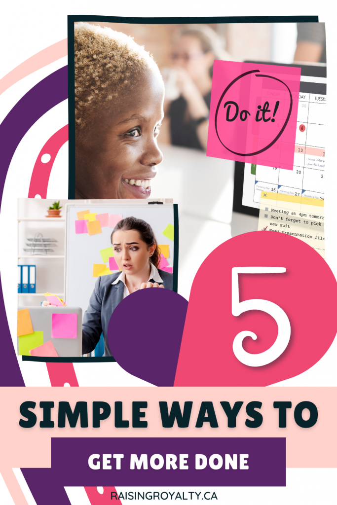 Busy moms have a lot to do in not much time. If your to-do list feels too long, try these 5 simple ways to get more done.