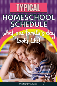 School can happen.. whenever, where-ever and however you need it to. Whether you spend 2 hours on math one day, and whip through all your lesson plans in 3 hours the next, it's all normal. Homeschooling is a lifestyle, not just an alternative educational choice.